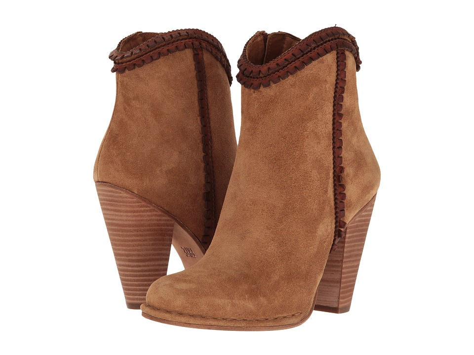 Frye - Madeline Trim Shorts (Tan Soft Oiled Suede/Smooth Full Grain) Women's Boots