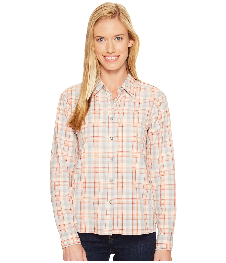 Mountain Hardwear - Canyon AC Long Sleeve Shirt (Steam) Women's Long Sleeve Button Up
