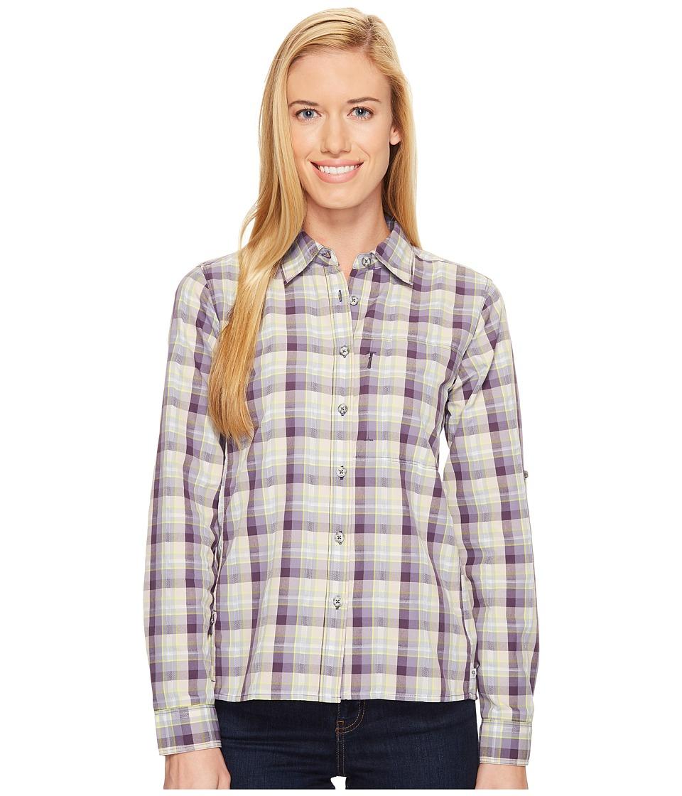 Mountain Hardwear - Canyon AC Long Sleeve Shirt (Blurple) Women's Long Sleeve Button Up