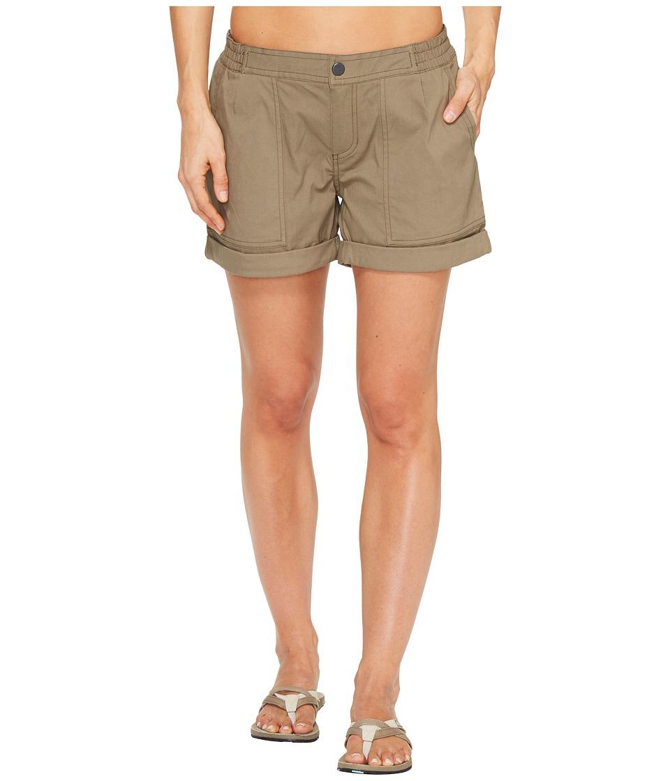 Mountain Hardwear - AP Scrambler Shorts (Stone Green) Women's Shorts