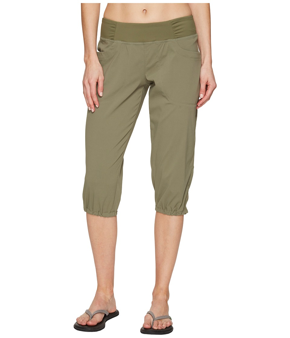 Mountain Hardwear Dynamatm Capri (Stone Green 1) Women