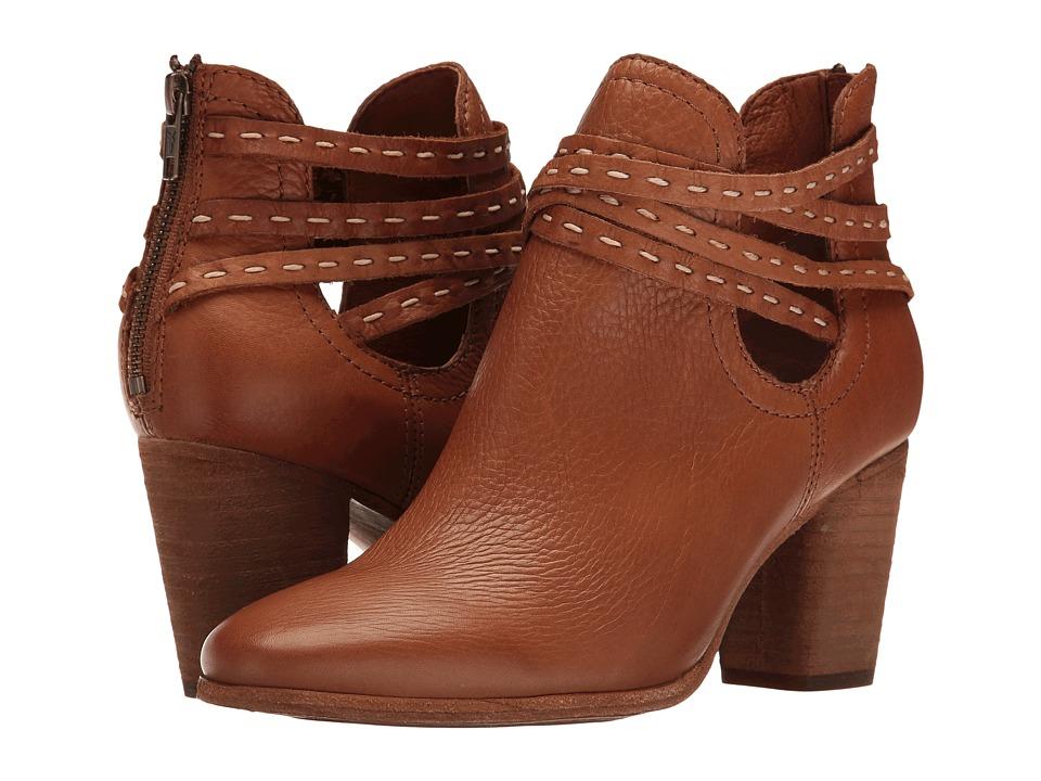 Frye - Naomi Pickstitch Shootie (Whiskey Soft Vintage Bovine) Women's Boots