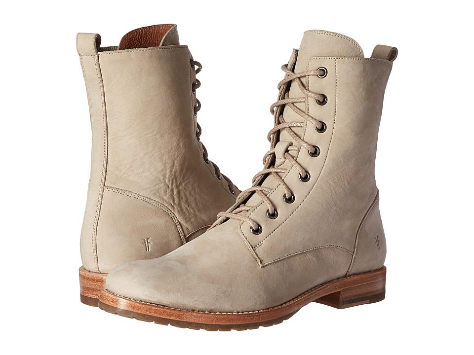 Frye - Natalie Lace Short (Ivory Soft Italian Nubuck) Women's Boots