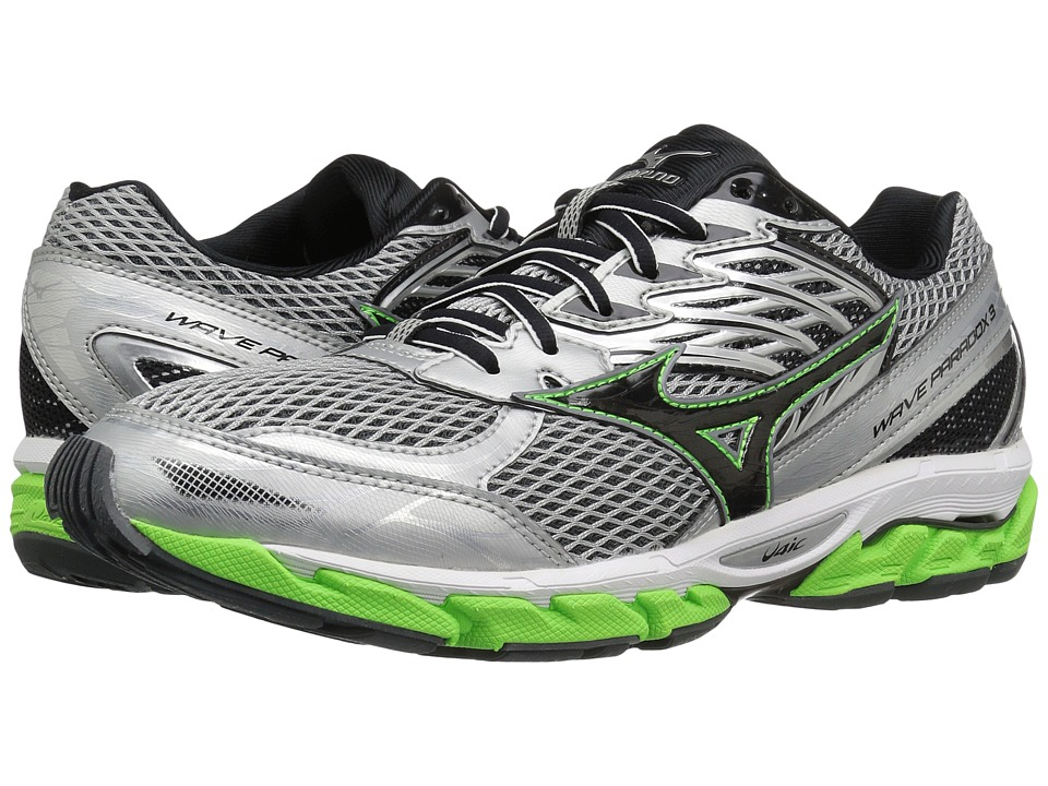 Mizuno - Wave Paradox 3 (High-Rise/Green Gecko/Black) Men's Running Shoes