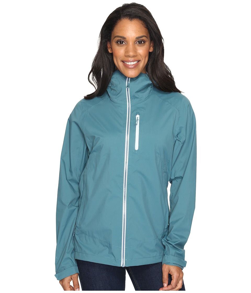 Mountain Hardwear - ThunderShadow Jacket (Cloudburst) Women's Coat