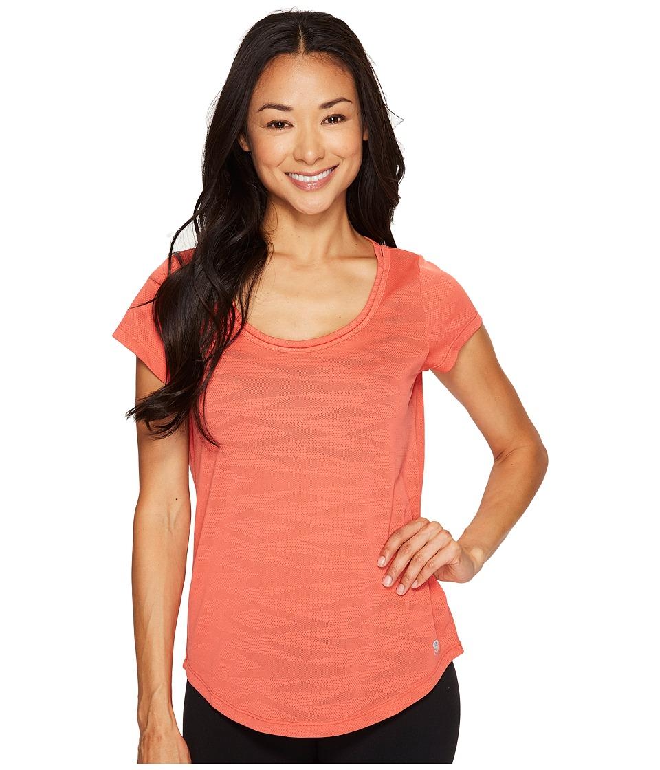 Mountain Hardwear - Breeze AC Short Sleeve Shirt (Crab Legs) Women's Short Sleeve Pullover