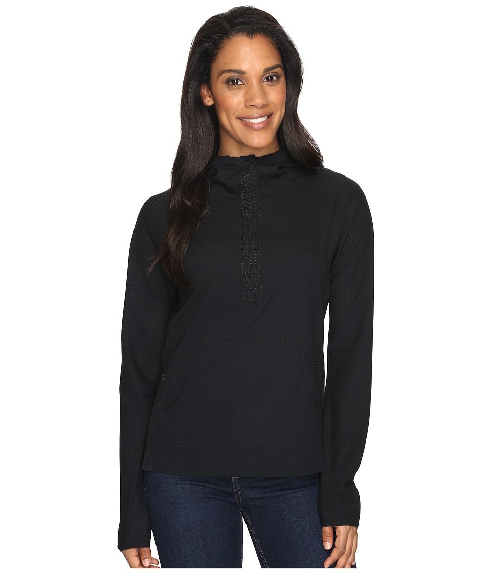 Mountain Hardwear - MHW AC Long Sleeve Hoodie (Black) Women's Sweatshirt