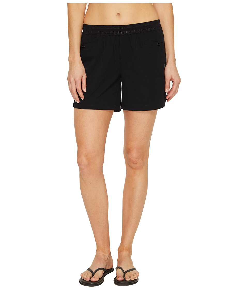 Mountain Hardwear - Right Bank Scrambler Shorts (Black) Women's Shorts