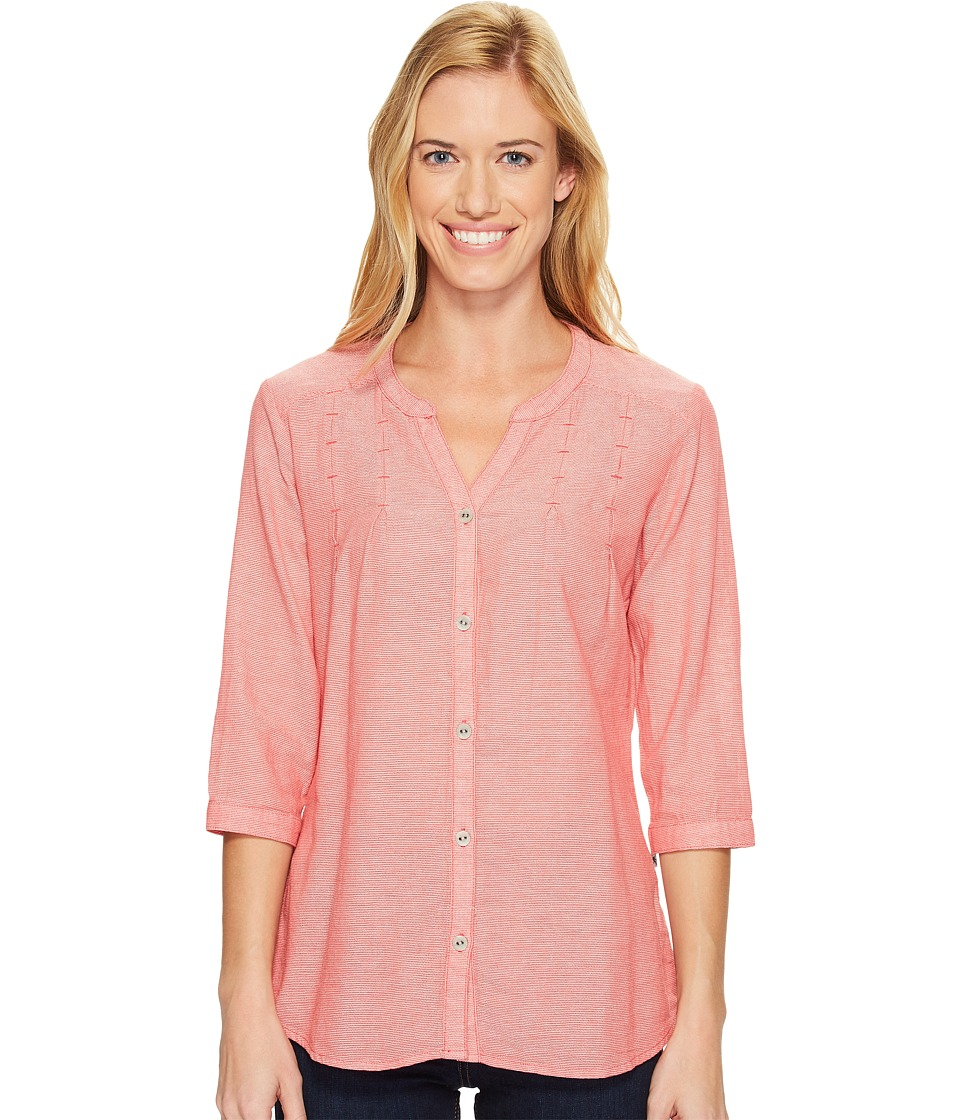Royal Robbins Cool Mesh Tunic (Dark Coral) Women