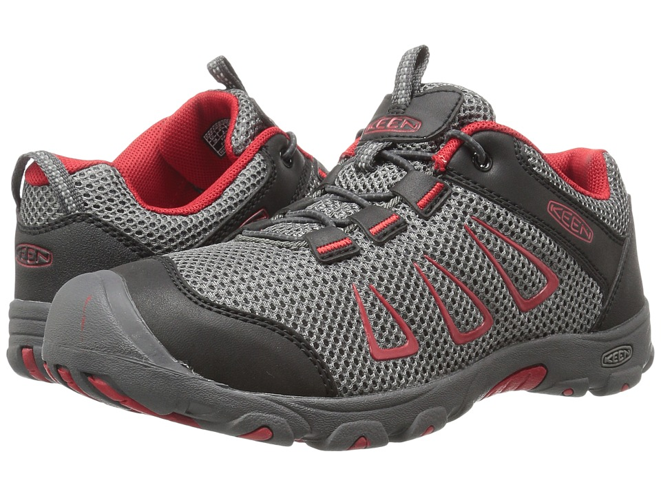 Keen Kids - Oakridge Mesh (Little Kid/Big Kid) (Gargoyle/Formula One) Boy's Shoes