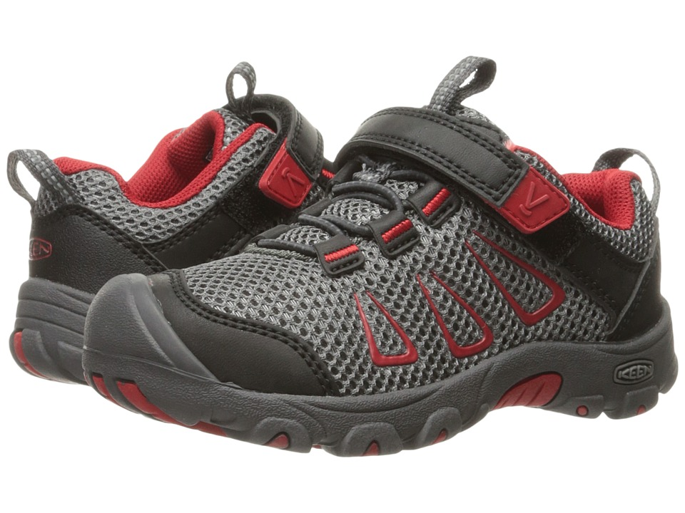 Keen Kids - Oakridge Mesh (Toddler/Little Kid) (Gargoyle/Formula One) Boy's Shoes