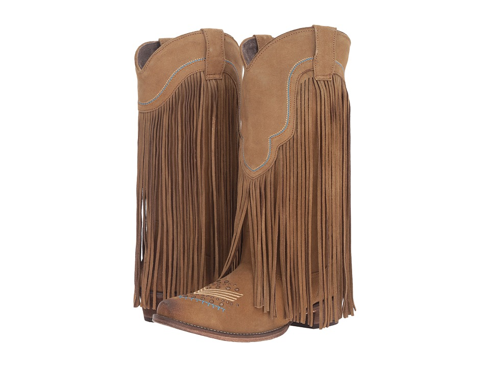 Roper - On The Fringe (Tan) Cowboy Boots