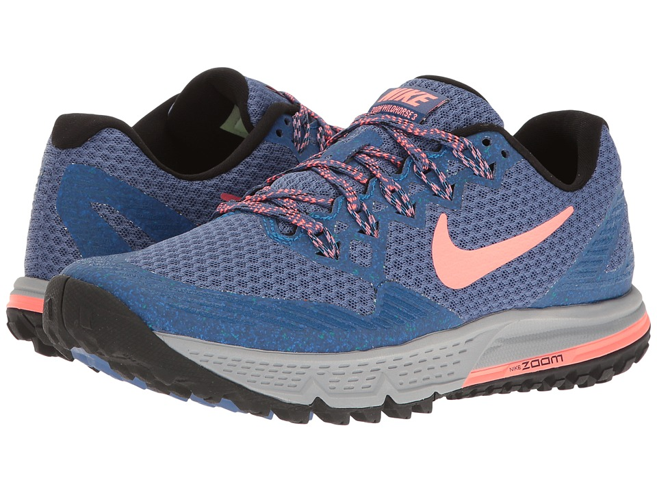 Nike - Air Zoom Wildhorse 3 (Blue Moon/Lava Glow/Soar/Team Royal) Women's Running Shoes