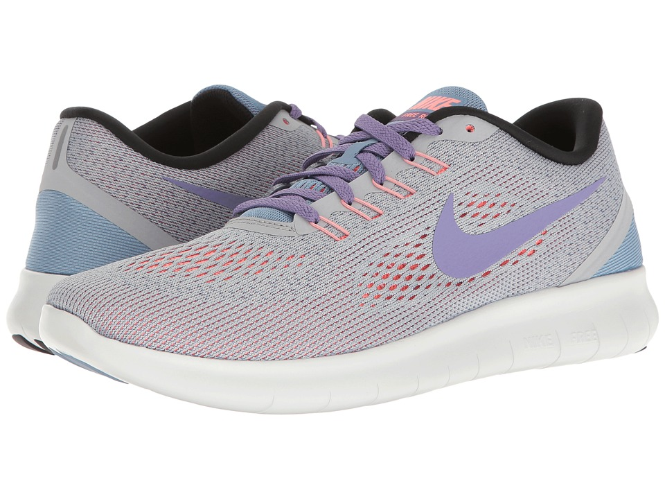 Nike - Free RN (Wolf Grey/Purple Earth/Work Blue) Women's Running Shoes