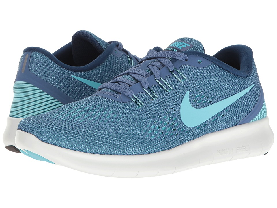 Nike - Free RN (Blue Moon/Polarized Blue/Coastal Blue) Women's Running Shoes