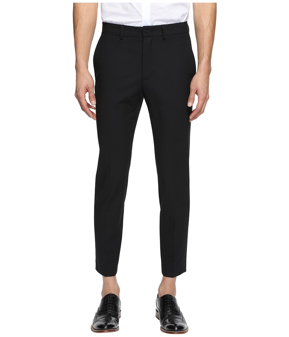 McQ - Peg Leg Trouser (Darkest Black) Men's Casual Pants