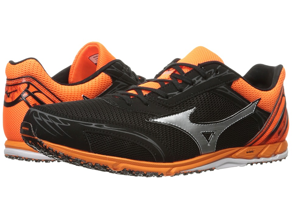 Mizuno - Wave Ekiden 11 (Black/Clownfish/Silver) Running Shoes