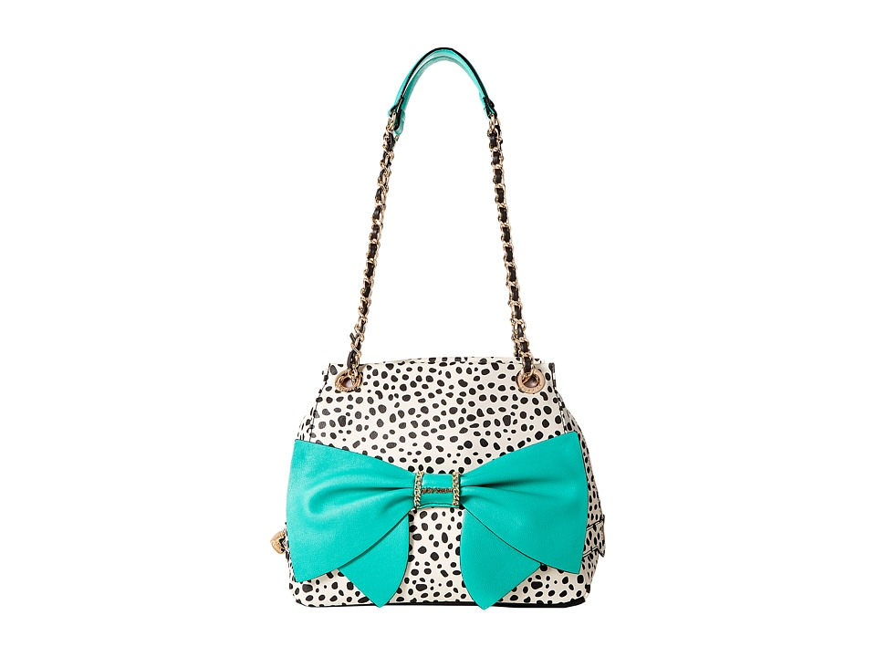Betsey Johnson - Oh Bow You Didn't Satchel (Spot) Satchel Handbags