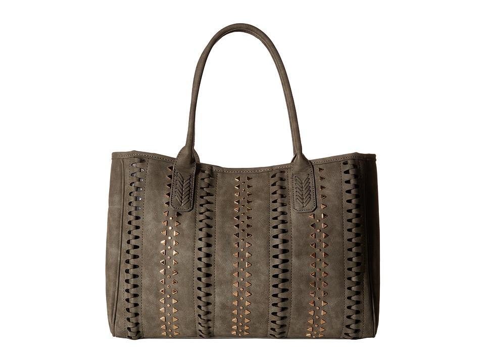 Steve Madden - Bhunterr Tote (Grey) Tote Handbags