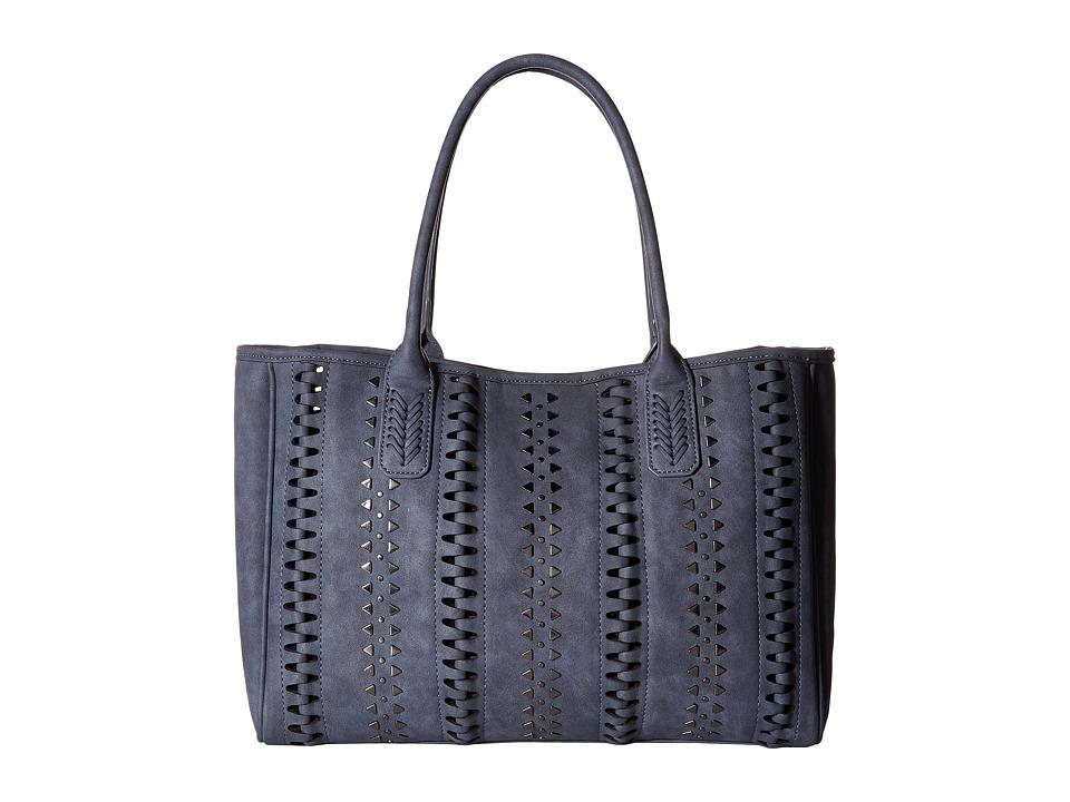 Steve Madden - Bhunterr Tote (Blue) Tote Handbags