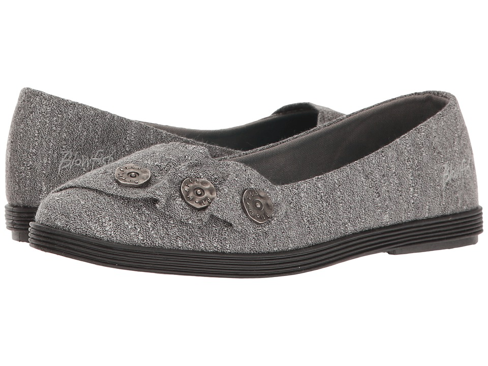 Blowfish - Garden (Grey New Jersey) Women's Slip on Shoes