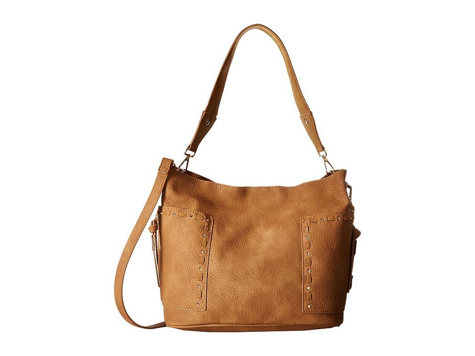 Steve Madden - Bkailyn Koltt w/ Guitar Strap (Tan) Handbags