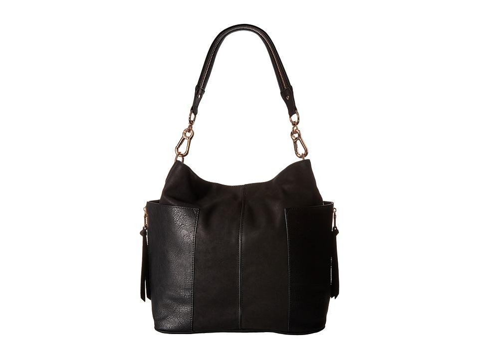 Steve Madden - Bzane Large Kolt Bucket (Black) Handbags