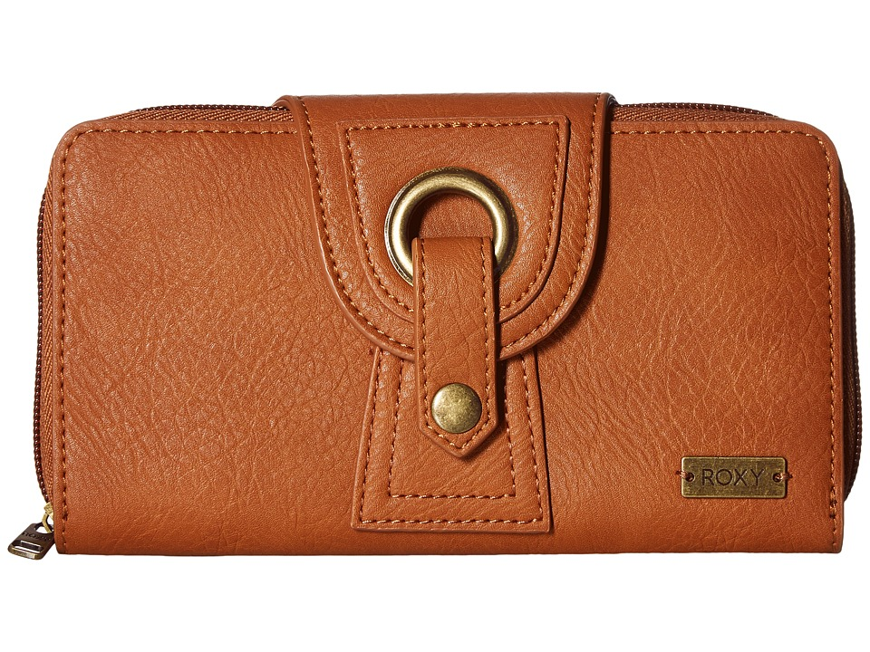 Roxy - Fire To The Rain (Camel) Wallet Handbags