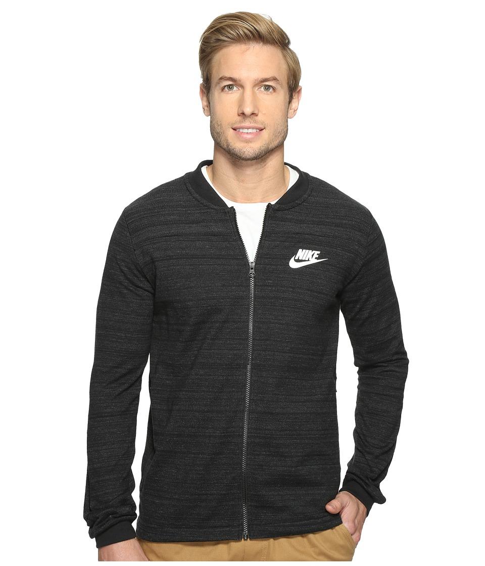 Nike - Sportswear Advance 15 Jacket (Black/Heather/White) Men's Coat