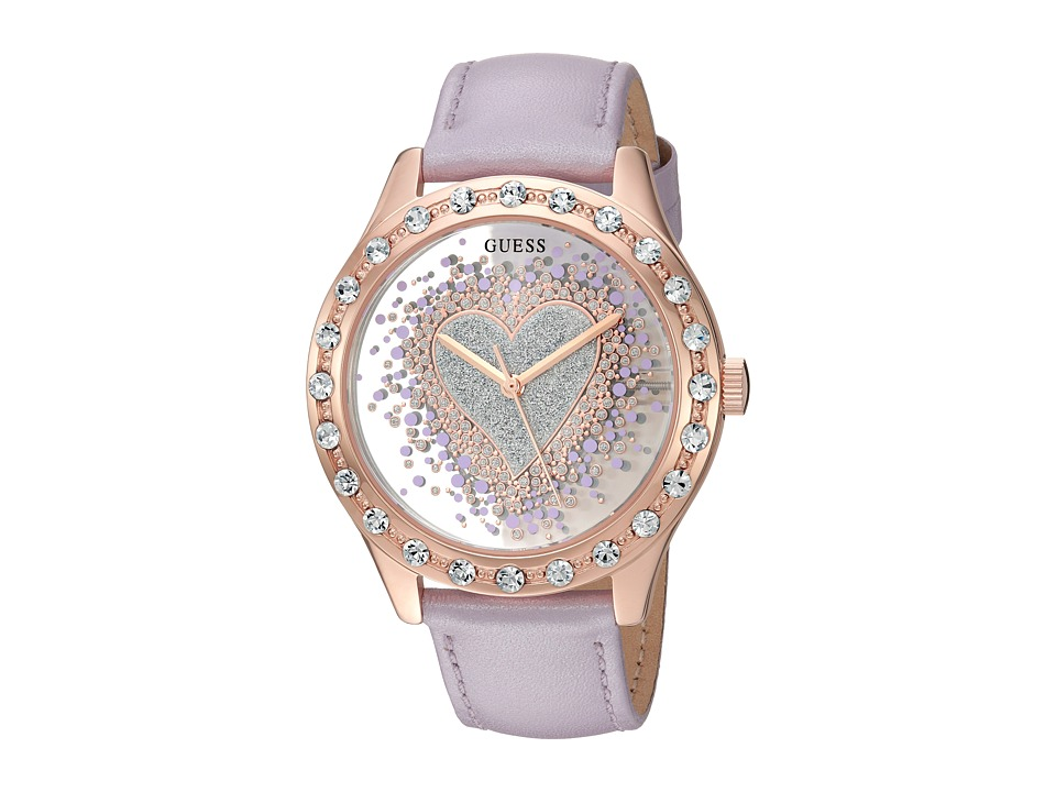 GUESS - U0909L3 (Lavender) Watches