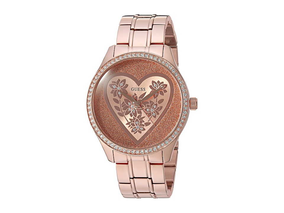 GUESS - U0910L3 (Rose Gold/Bronze) Watches