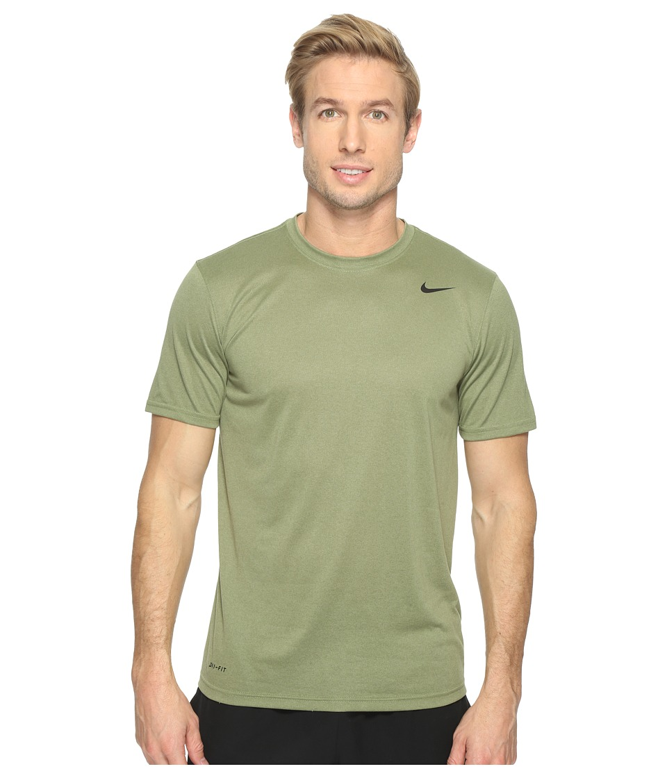 Nike - Legend 2.0 Short Sleeve Tee (Palm Green/Black) Men's T Shirt