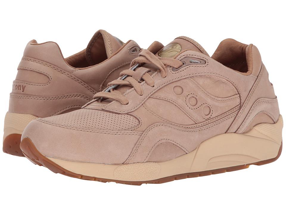 Saucony Originals - G9 Shadow 6000 - Veg Tan Pack (Veg Tan) Men's Classic Shoes