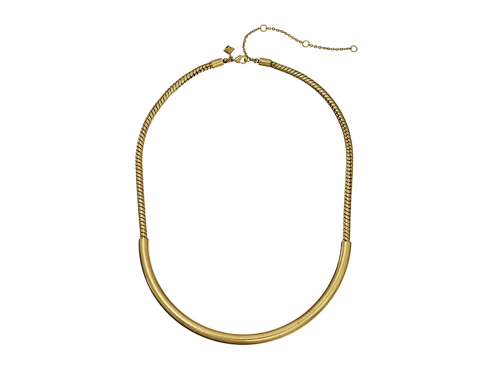 Rebecca Minkoff - Short Collar Necklace (Gold) Necklace