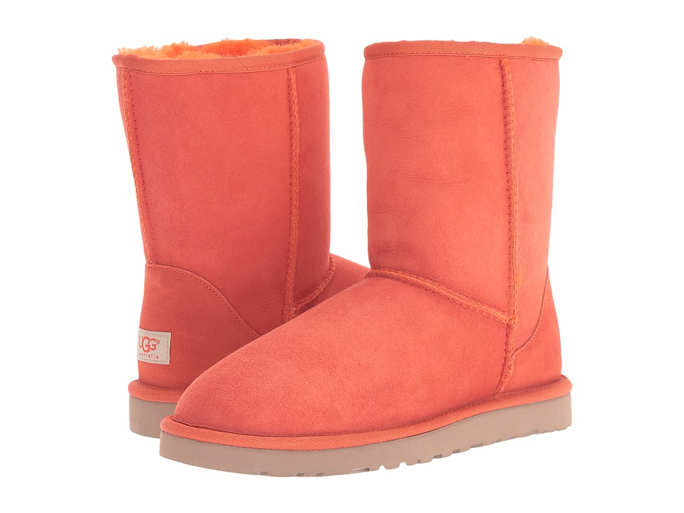UGG - Classic Short (Hazard Orange) Women's Boots