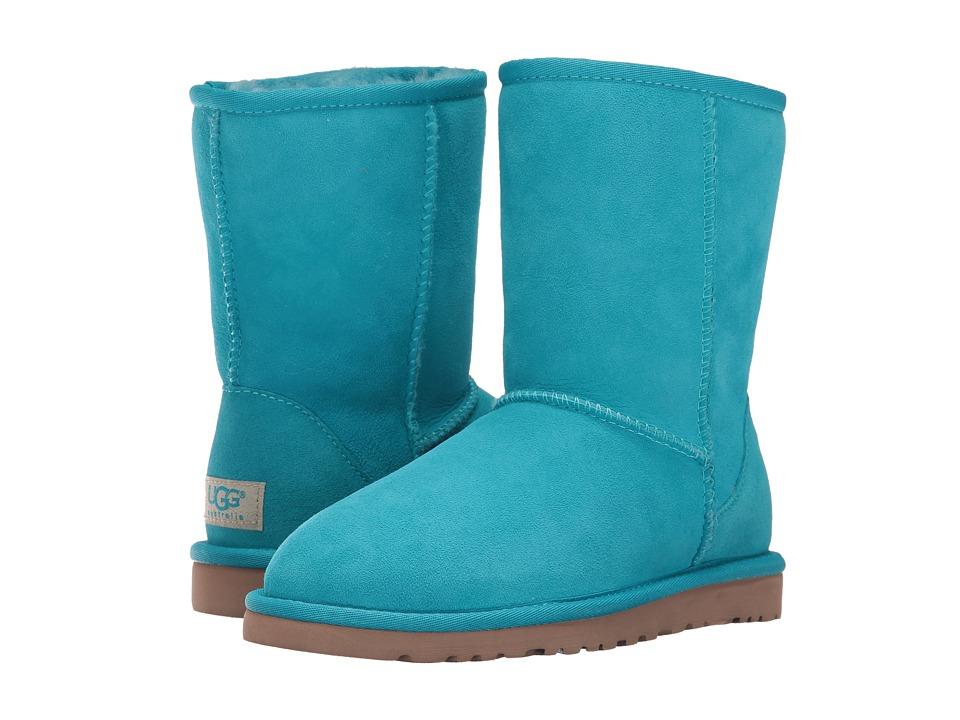 UGG - Classic Short (Surf Blue) Women's Boots