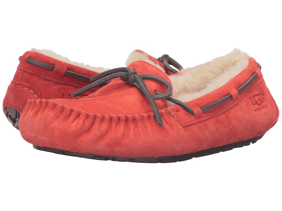 UGG - Dakota (Hazard Orange) Women's Moccasin Shoes