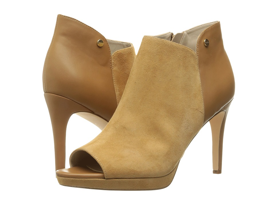 Calvin Klein Matilde (Almond Tan Suede/Leather) Women