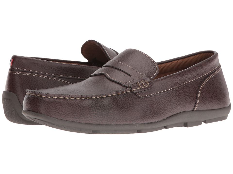 Tommy Hilfiger - Damien (Dark Brown) Men's Shoes