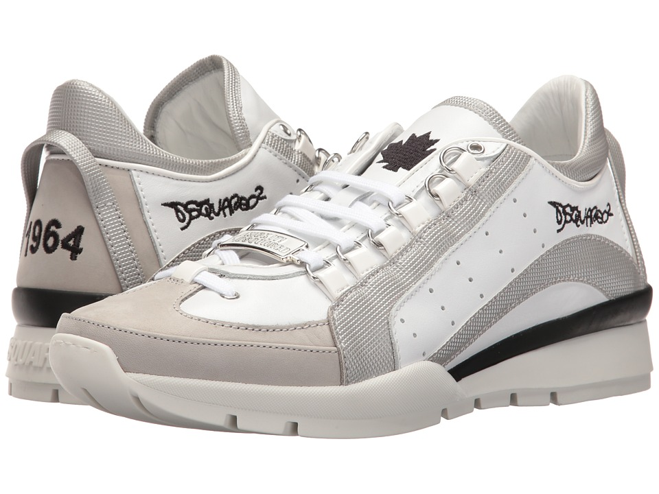 DSQUARED2 - 551 Sneaker (Silver) Men's Lace up casual Shoes