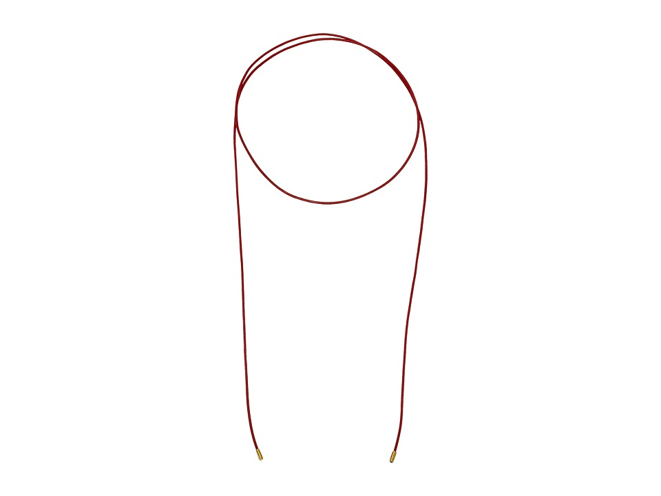 Elizabeth and James - Fiona Necklace - 35 Length (Red) Necklace
