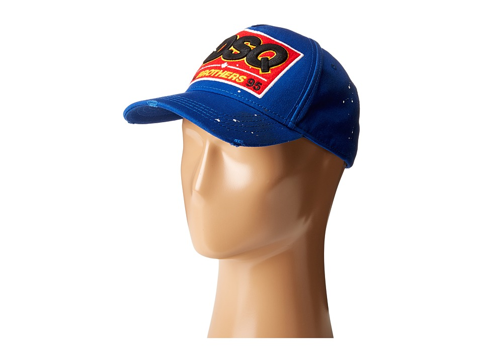 DSQUARED2 - Brothers Baseball Cap (Bluette) Baseball Caps