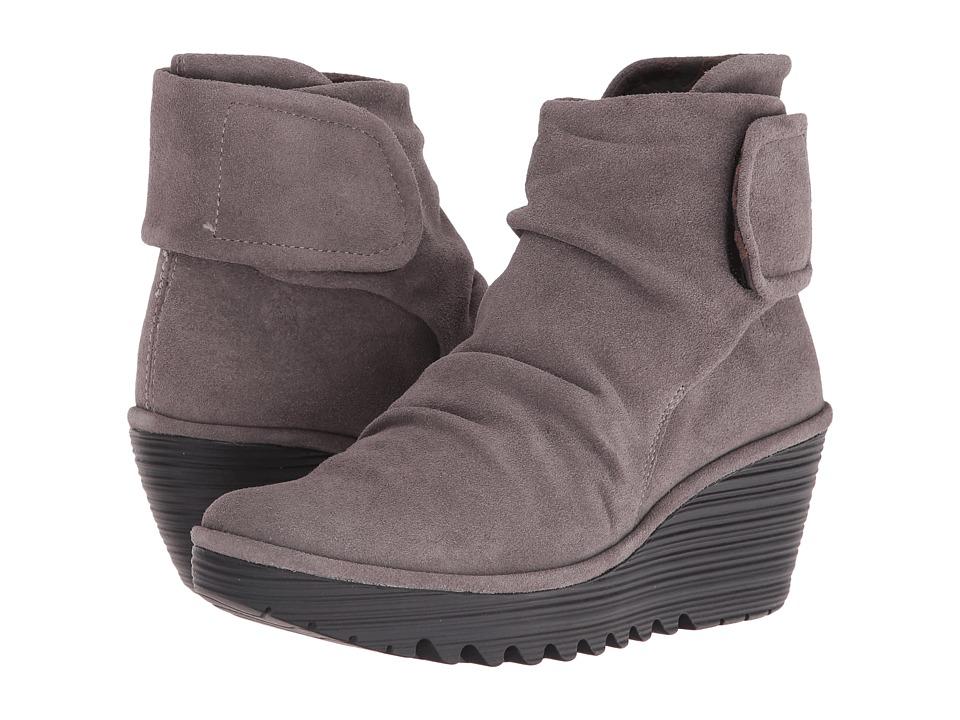 FLY LONDON - Yegi689Fly (Ash Oil Suede) Women's Shoes