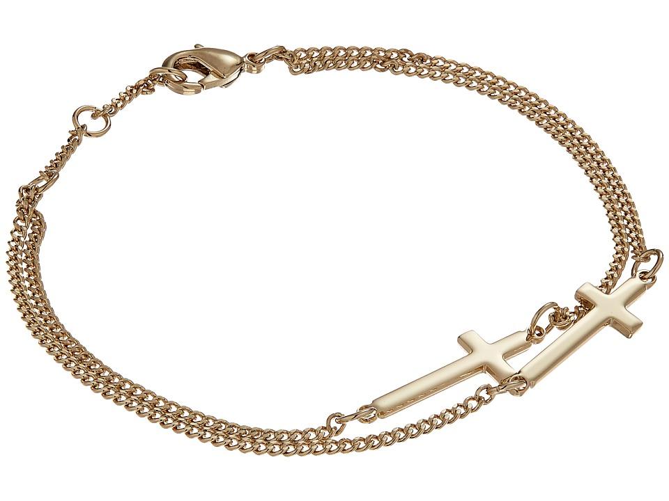 DSQUARED2 - Jesus Chain Bracelet (Gold) Bracelet