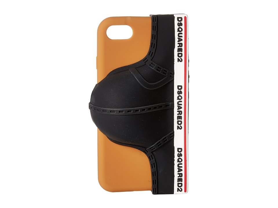 DSQUARED2 - Silicone iPhone 6 Ciro Cover (Black) Cell Phone Case