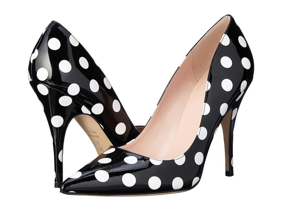 Kate Spade New York - Licorice (Black/White Polka Dot Patent) High Heels