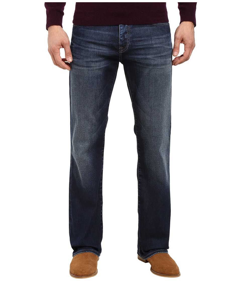 Mavi Jeans Josh Regular Rise Bootcut in Dark Shaded Williamsburg (Dark Shaded Williamsburg) Men