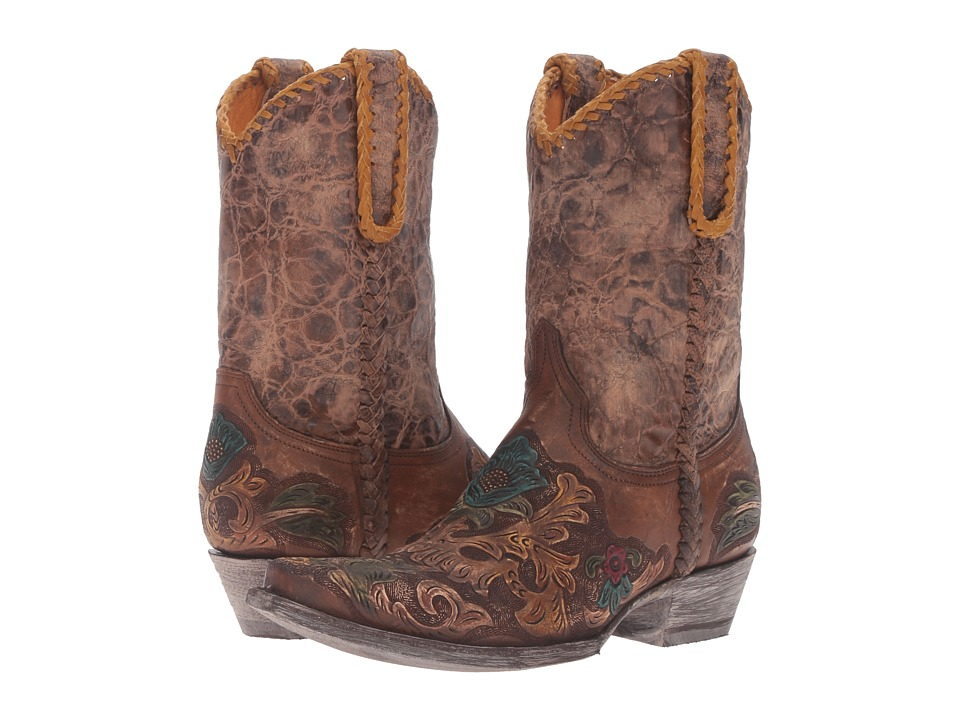 Old Gringo Sonia (Natural/Gold) Cowboy Boots