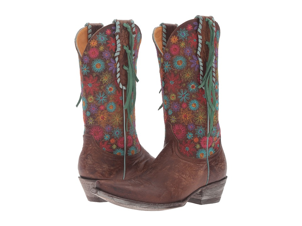 Old Gringo Lorre (Brass) Cowboy Boots