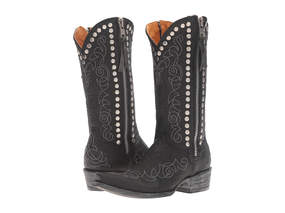 Old Gringo Hilary (Black) Cowboy Boots